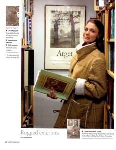 Tearsheet from ULSTER MAGAZINE Winter 2012-13